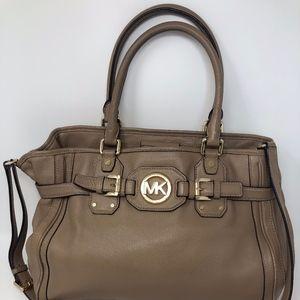 Michael Kors Beige/Nude Leather Handbag